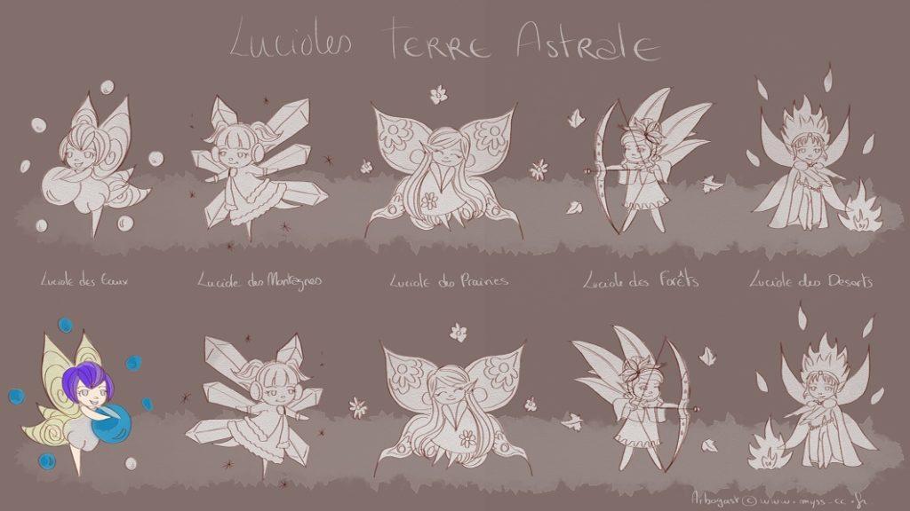 Arbogast & Qurn, les lucioles